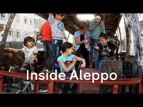 Inside Aleppo: the underground schools sheltering children