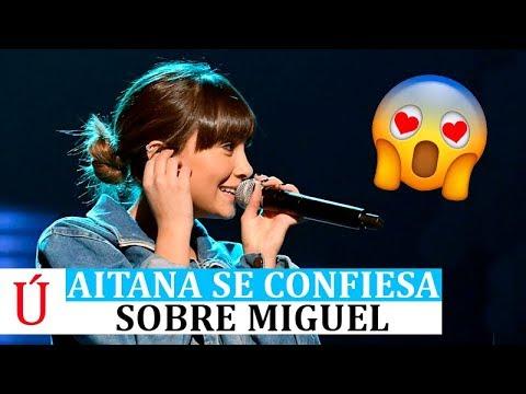 La confesión de Aitana sobre Miguel Bernardeau antes de los Latin Grammy 2019