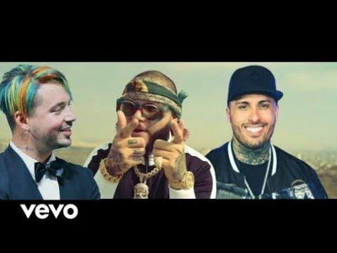 Farruko, Nicky Jam, J Balvin -