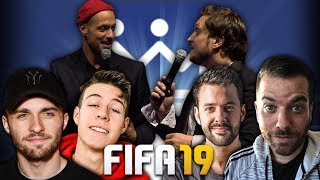 SQUEEZIE ET SEB vs LE GRAND JD ET PSYKO17 - FIFA19