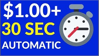 Earn $1 Every 30 Sec (Make Money Online)