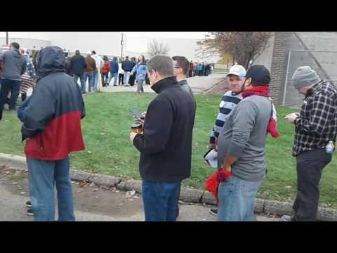 Trump rally Macomb Community College Warren Michigan