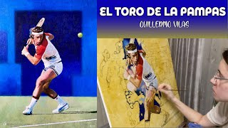The Making of... El Toro de la Pampas Guillermo Vilas | The Berlin Tennis Gallery