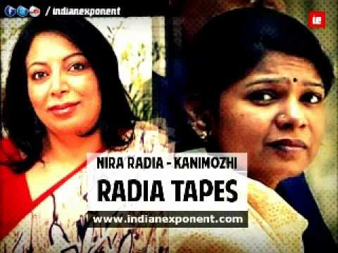 RADIA TAPES: Kanimozhi, Nira Radia Tapped Conversations
