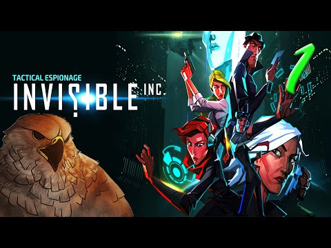 Invisible Inc Gameplay - Cyberpunk Espionage! - Let's Play - Part 1