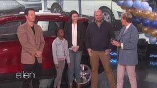 Athens family makes 'Ellen' appearance after viral video