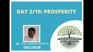 Day2/10 - Mr. Siva Kantheti - Universal Human Values / Jeevan Vidya Online Workshop