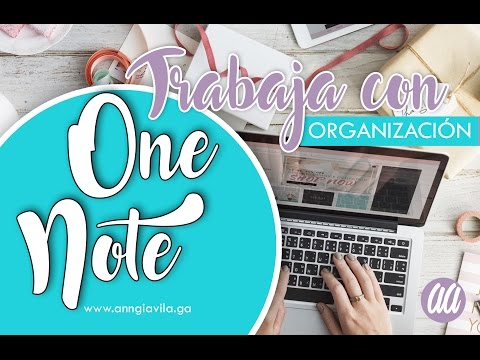 ¿Cómo organizarte con OneNote?