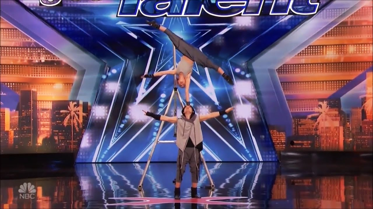 Father & Daughter Acrobatic Duo With Dangerous So Much More on America's Got Talent