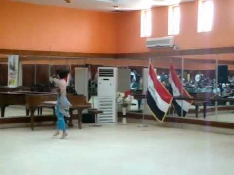 Modern ballet ( music and ballet school in baghdad ) 2012