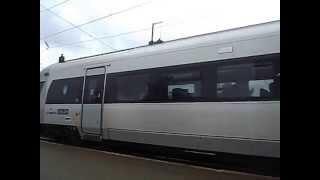 Хюндай.Отправление поезда со Львова на Трускавец.