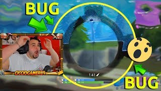 CICCIOGAMER89 UCCIDE A PERSON BUT ACCADE A BUG PAZZESCO! EPIC REACTION! FORTNITE!