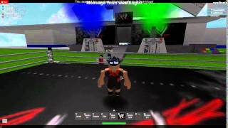 Roblox WWR Wrestling - Title Match part 2
