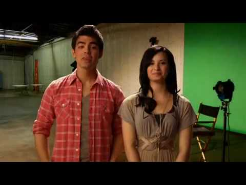 Joe Jonas & Demi Lovato - Oceans Outtakes Bloopers (Official Video) [HQ]