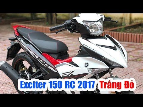 Yamaha Exciter 150 RC 2017 Trắng Đỏ ▶ Đánh giá thực tế thay đổi