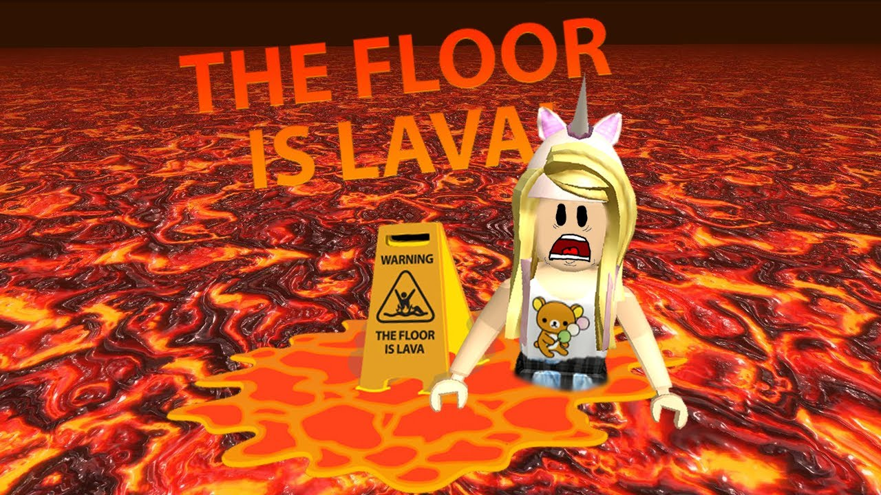 Roblox Floor Is Lava Youtube
