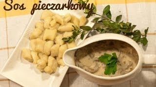 SOS PIECZARKOWY, Jak zrobić sos pieczarkowy? | Magdalenkowe Frykasy