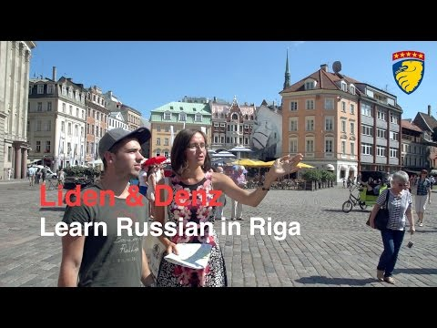 Liden & Denz - learn Russian in Riga, Latvia