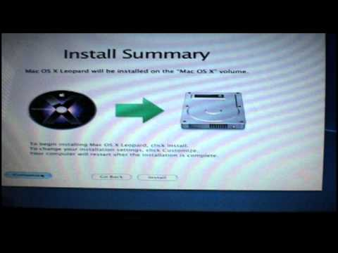 How to Install Mac OS X Leopard 10.5.8 on Dell Inspiron 1545 Tutorial (Part 1)