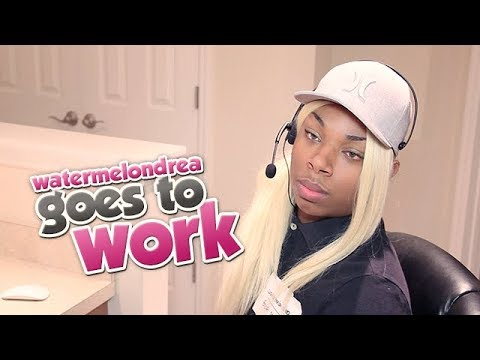 Watermelondrea Goes To Work