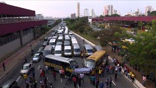 Protesto de vans escolares thumbnail