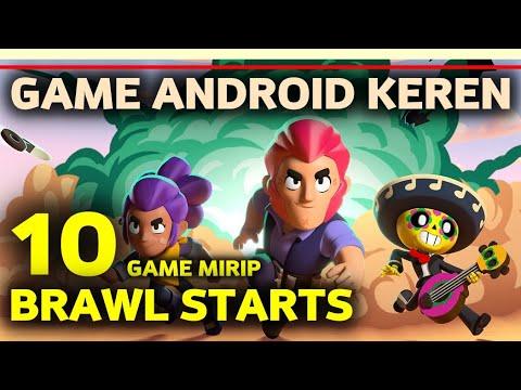10 Game Mirip Brawl Stars Offline/Online Terbaik Di Android | Game List Multiplayer Terseru
