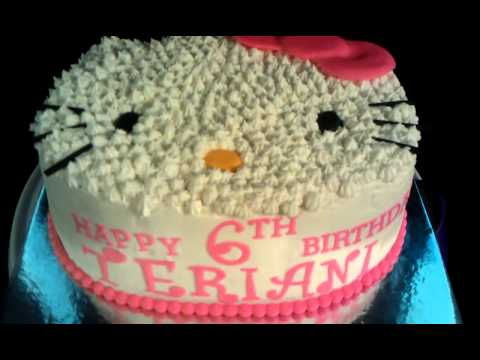 Hello Kitty Theme Cake 3 Youtube