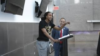 Women's Basketball Banquet (IUPUI) Tamika Catchings