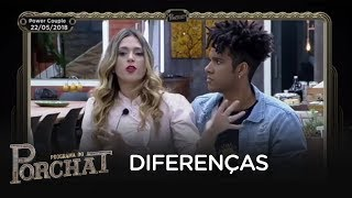 Nadja e D`Black comentam brigas que tiveram no Power Couple