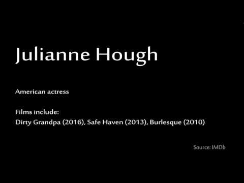 How to pronounce - Julianne Hough