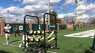 Michigan State football spring practice highlights
