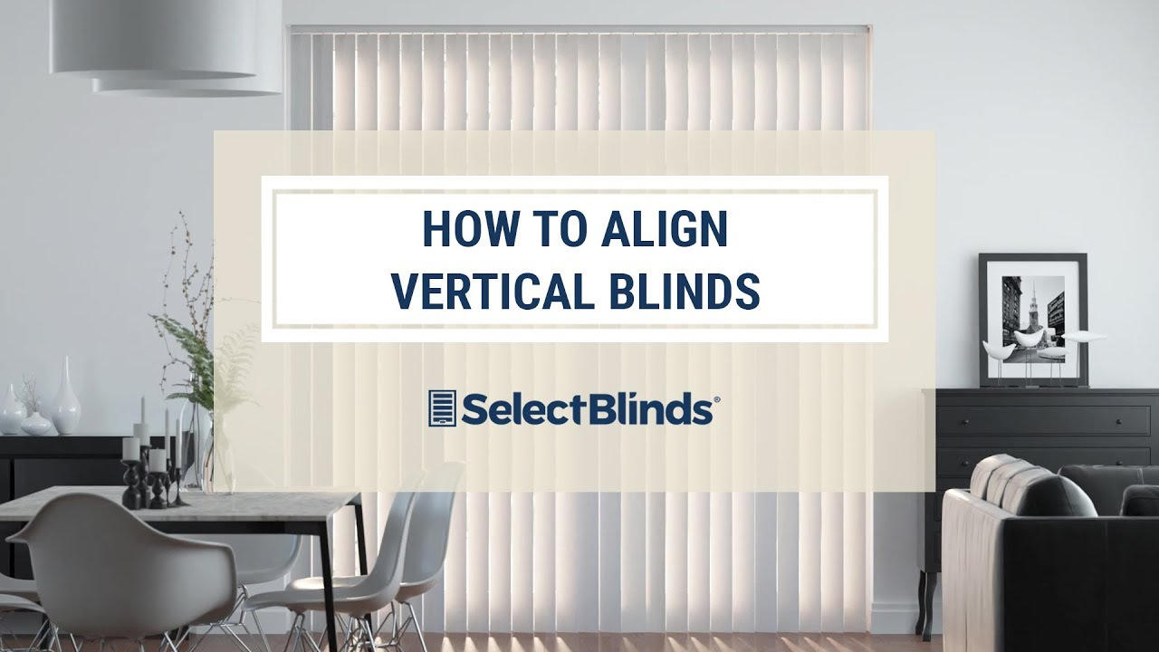 Guide To Aligning Vertical Louvers On Vertical Blinds