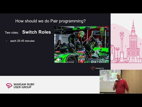 WRUG 03/2019 - Mariusz Kozieł: Pair programming rules, best practices and  tips