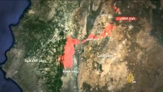 انسحابات جديدة للنظام السوري بريف إدلب