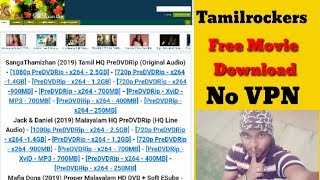 Tamilrockers website current link 2020 | Tamilrockers HD | Tamilrockers no vpn | MTechBoss