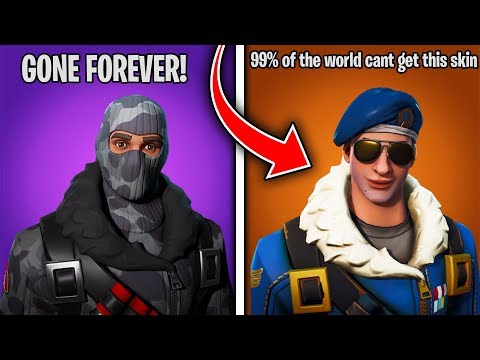 Top 5 EXCLUSIVE FORTNITE SKINS You Can't Get ANYMORE!