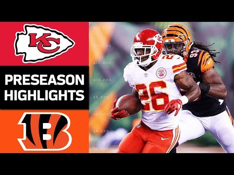 Chiefs vs. Bengals | NFL Preseason Week 2 Game Highlights