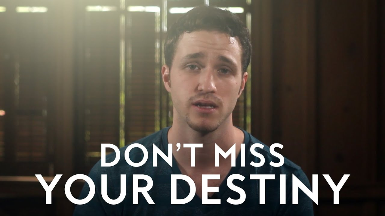 Don't Miss Your Destiny | Powerful Short Sermon