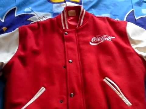 Sonic The Hedgehog Coca Cola German Promotional Baseball Jacket Review Youtube