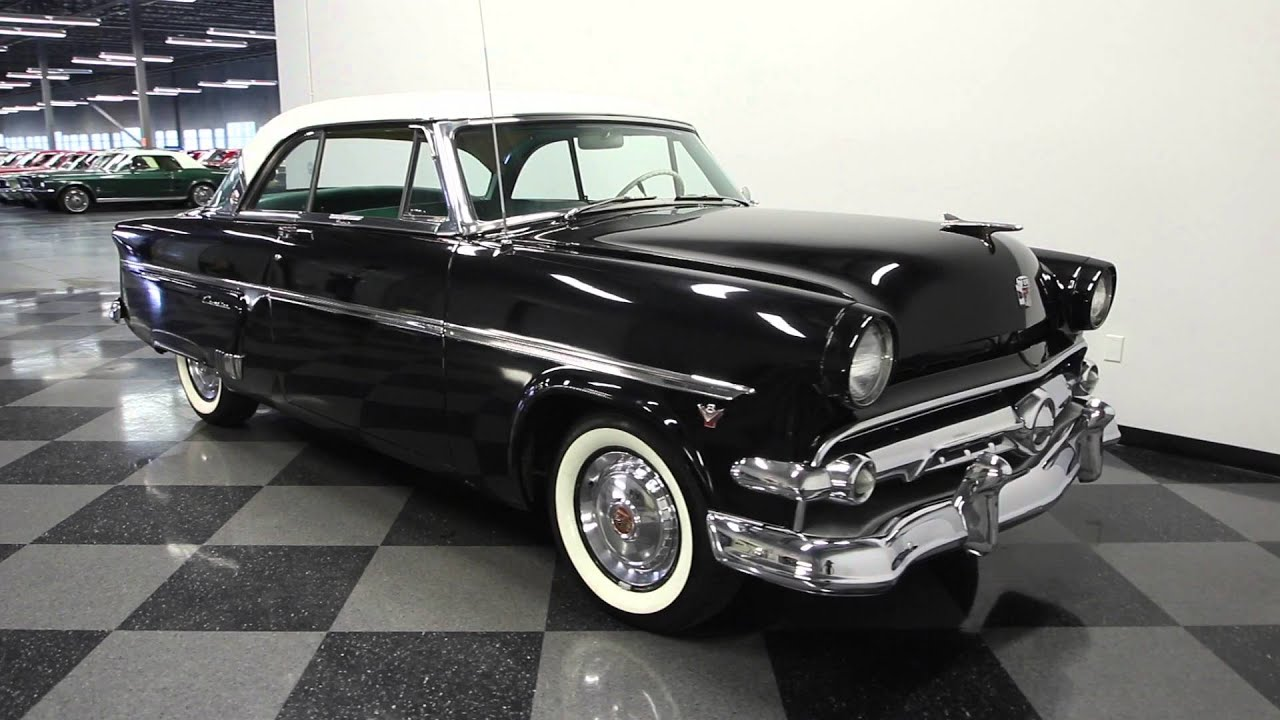 Ford Crown Victoria 2016 >> 200 TPA 1954 Ford Crestline Victoria - YouTube