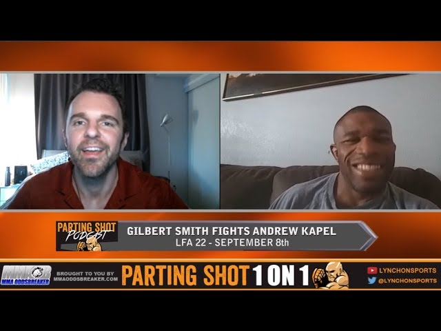 TUF 25's Gilbert Smith talks retirement fight at LFA 22
