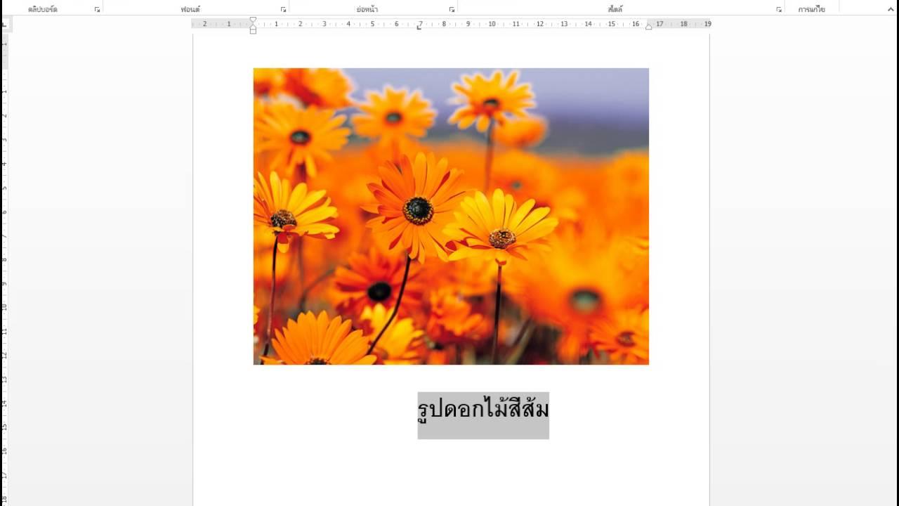 แปลงไฟล์ Word เป็นภาพ jpeg ง่ายๆ