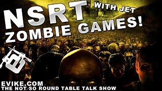 """Airsoft """"not So Round Table"""" Zombie Games?! Ep. 24 - Evike Tv"""