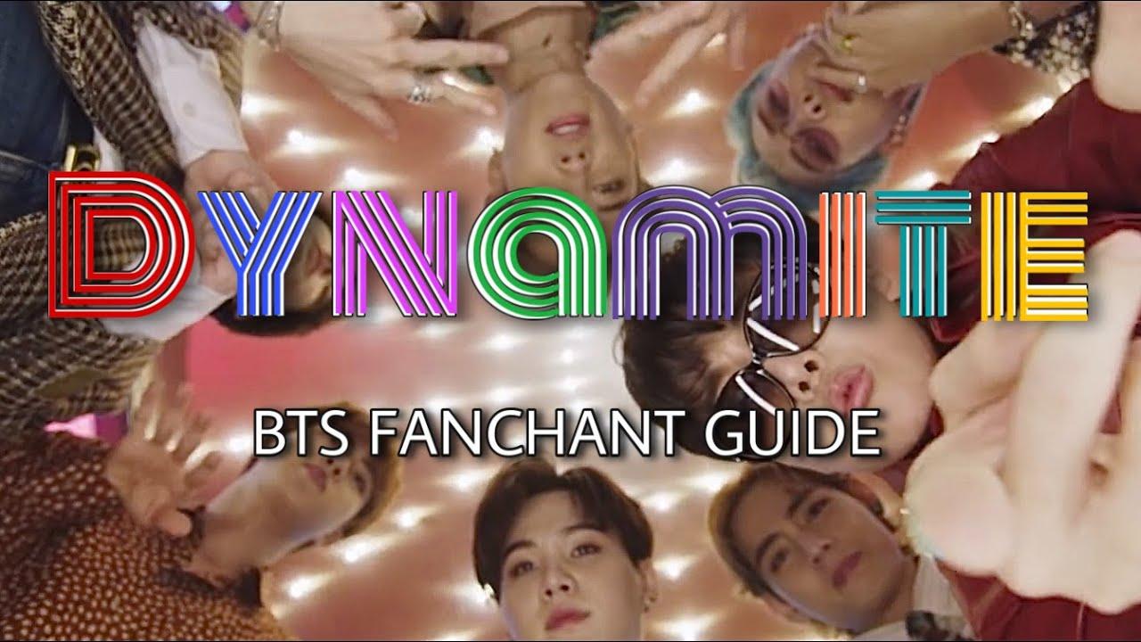 [FANCHANT/응원범] BTS (방탄소년단) - 'Dynamite' Lyrics