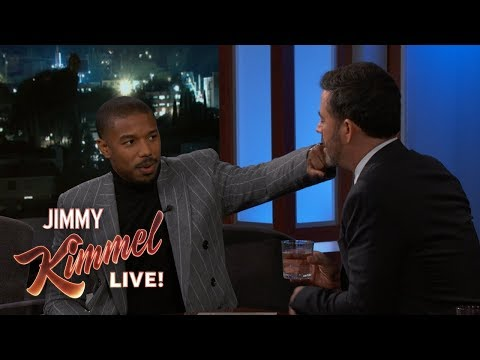 Phill Kross - Michael B. Jordan Punches Jimmy Kimmel!