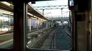 【阪急電鉄】らくらく箕面へ一直線! 宝塚線5100系 通勤準急 前面展望 梅田→箕面