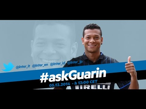 Live! #askGuarin 05.12.2014 h:13:00