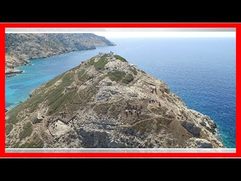 Unusually sophisticated prehistoric monuments and technology revealed in the heart of the Aegean by