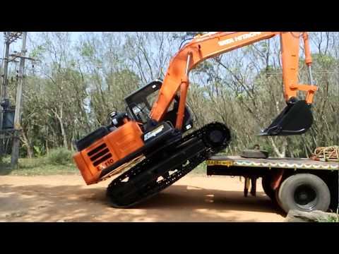 New Tata Hitachi ex110 - YouTube