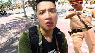 NTN - Đi Quay Phim Gặp Công An Giao Thông (Caught by traffic cops when filming)
